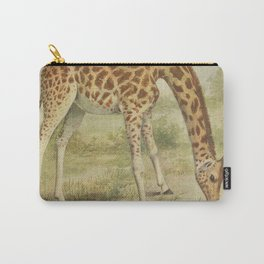 Vintage Giraffe Illustration (1903) Carry-All Pouch