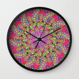PinWheel 5 Wall Clock
