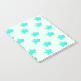 Pastel Stars Notebook