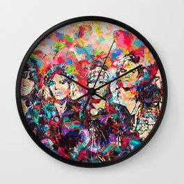 Rock Legend Wall Clock