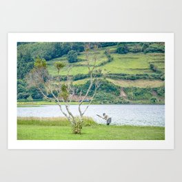Azores Sao Miguel Art Print