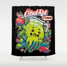 CTHUL-AID Shower Curtain