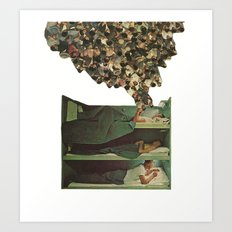 top bunk Art Print