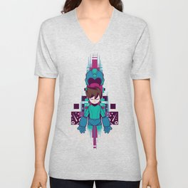 The Mega Man Unisex V-Neck