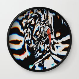 Tripping Pepper Wall Clock