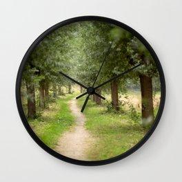 Willow Lane II Wall Clock