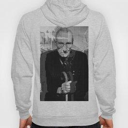 William Burroughs glitch Hoody
