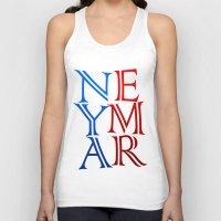 neymar Tank Tops featuring Neymar by Sport_Designs
