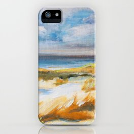 The Dunes in Ostend iPhone Case