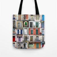 doors Tote Bags featuring Thirty Doors by Igor Shrayer