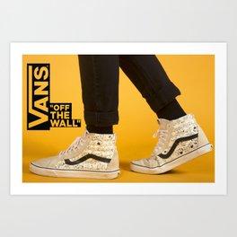 Vans Poster Art Print