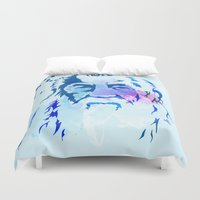 gandalf Duvet Covers featuring Gandalf by BIG Colours