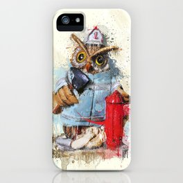 FireOwl iPhone Case
