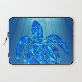 SWIMMING FREE Laptop Sleeve