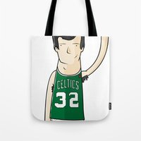kevin russ Tote Bags featuring Kevin McHale by frappeboy
