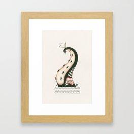 Overfished Framed Art Print
