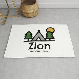 Zion National Park Rug