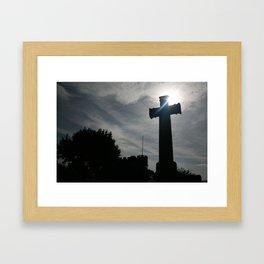 cross of destiny Framed Art Print