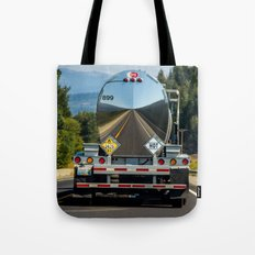 Reflections of the road Tote Bag