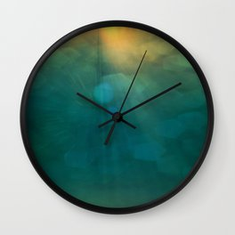 Light From Above Wall Clock