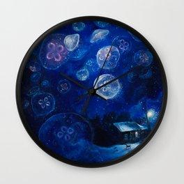 It's Jellyfishing Outside Tonight Wall Clock