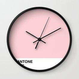 1975 // PANTONE - 7422 C Wall Clock