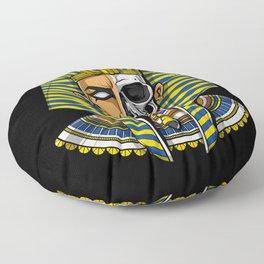 Egyptian Pharaoh Skull Floor Pillow