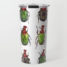 Beetles on the wall Travel Mug
