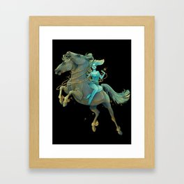 Gemini Maiden Framed Art Print