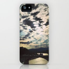 Chattanooga Clouds iPhone Case