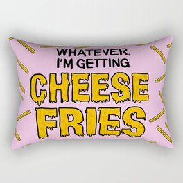 Cheese Fries Rectangular Pillow