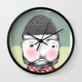 Lumber Jack Wall Clock
