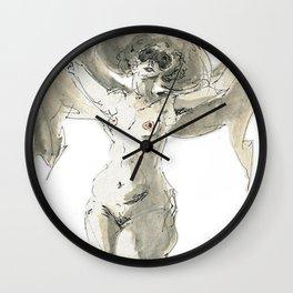 Burlesque Wall Clock