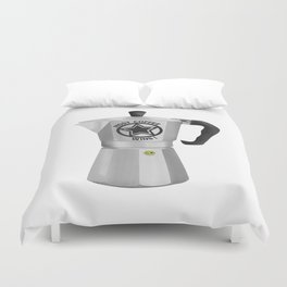 Most Coffee Wins Duvet Cover