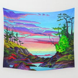 Pacific Pacific by Amanda Martinson Wall Tapestry
