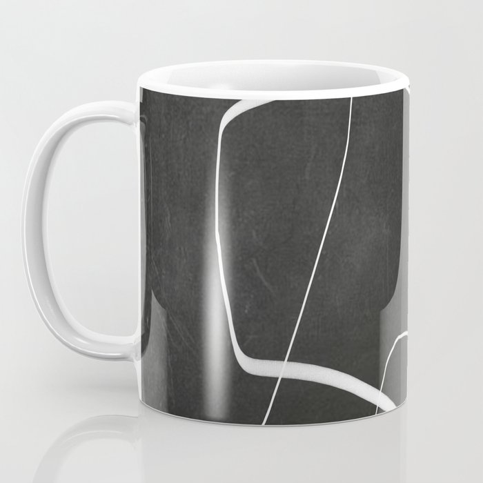 Abstract line art 6/2 Coffee Mug