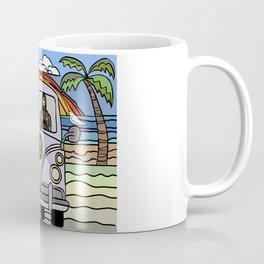 Golden Retriever Beach Coffee Mug