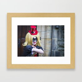 Manda Cowled as NoFlutter Steampunk Harley Quinn 4 Framed Art Print