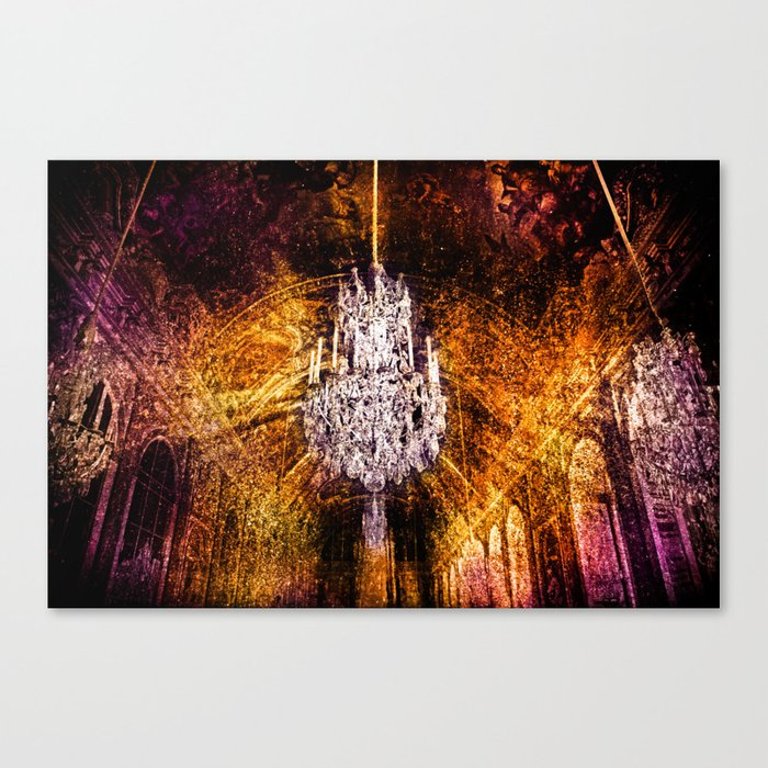 Hall Of Mirrors Canvas Print