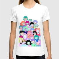 it crowd T-shirts featuring Crowd #2  by Milly Scarlett