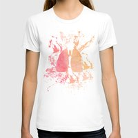lungs T-shirts featuring lungs by divinerush