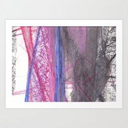 variazioni del cuore Art Print