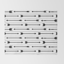 Arrows Throw Blanket