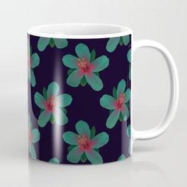 Glowing Hibiscus at Dusk Coffee Mug