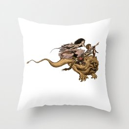 The Great Quest Throw Pillow