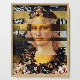 Leonardo Da Vinci'sMona Lisa & Botticelli's Venus Serving Tray