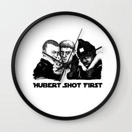 Hubert shot first Wall Clock