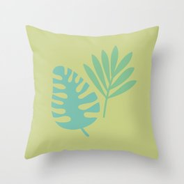 Botanical #1 Throw Pillow