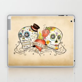 Death Do Us Part Laptop & iPad Skin
