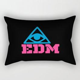 EDM rave logo Rectangular Pillow